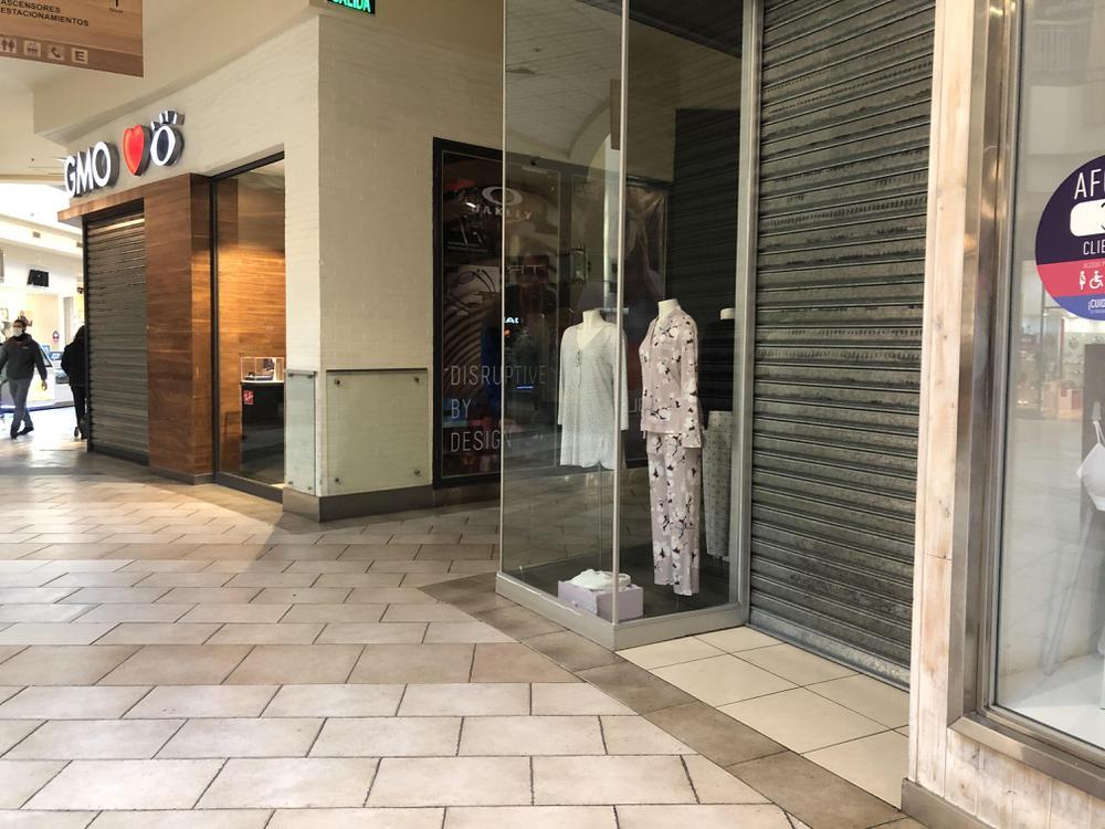 Locales cerrados del Mall Portal Temuco.