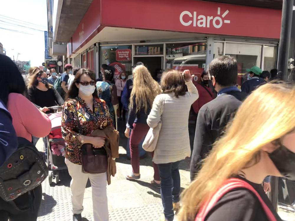 Calles de Temuco durante pandemia.
