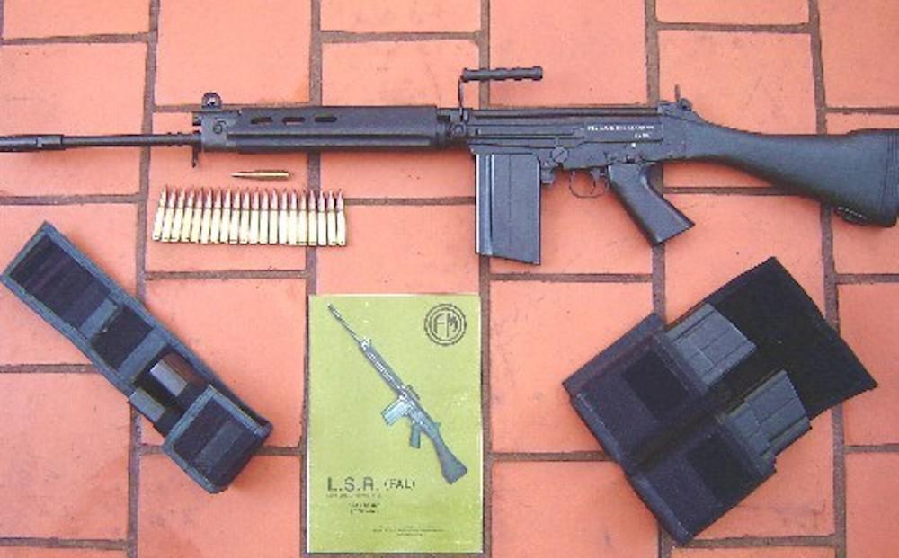 Fusil FAL - imagen  referencial