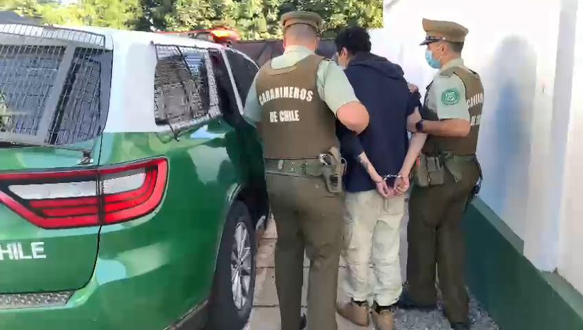 Detención en Collipulli.