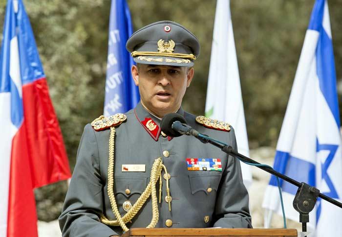 Rodrigo Pino - Agregado Militar embajada de Chile en Israel