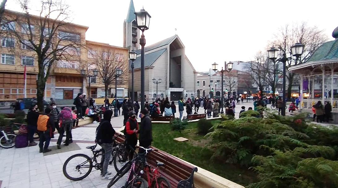 Manifestacion Valdivia