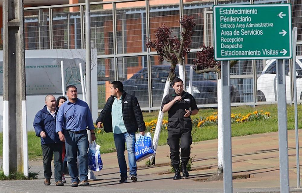 Hector Llaitul es liberado de El Manzano