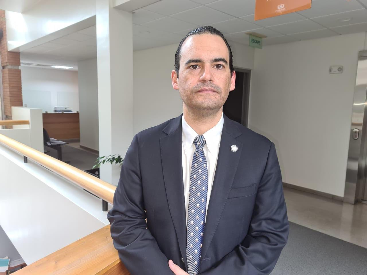 Fiscal vocero Roberto Garrido.