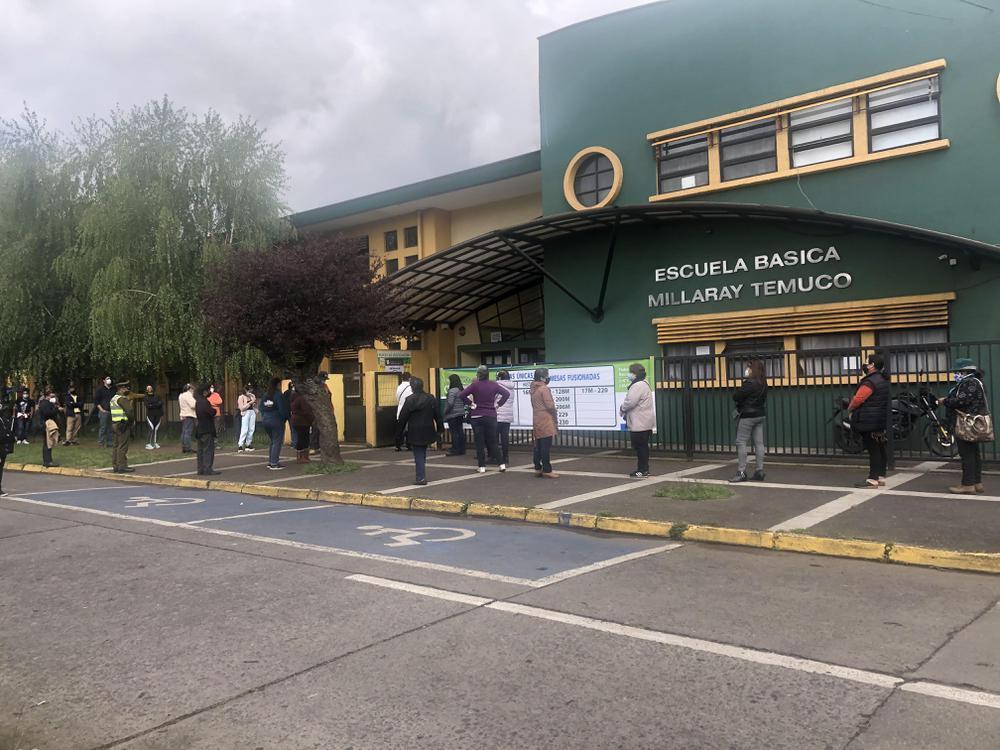 Centros de votación en Temuco.