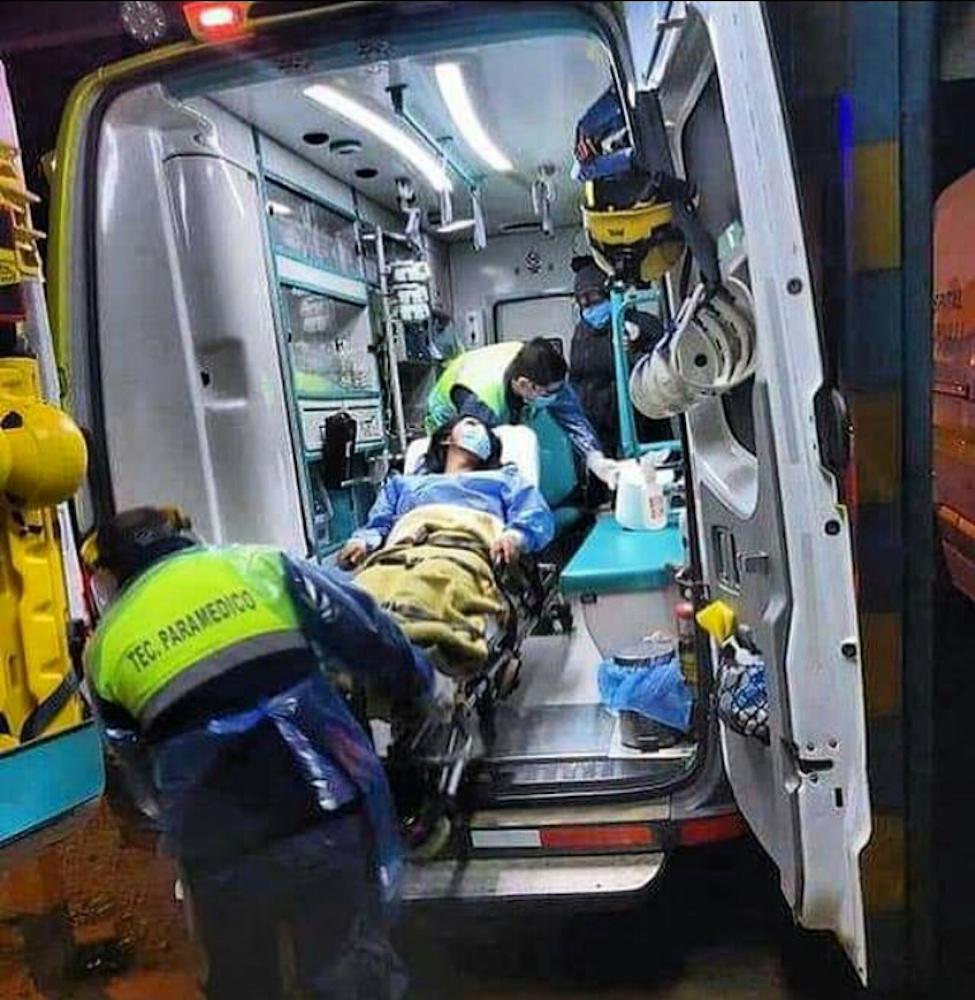 Menor herido en Collipulli