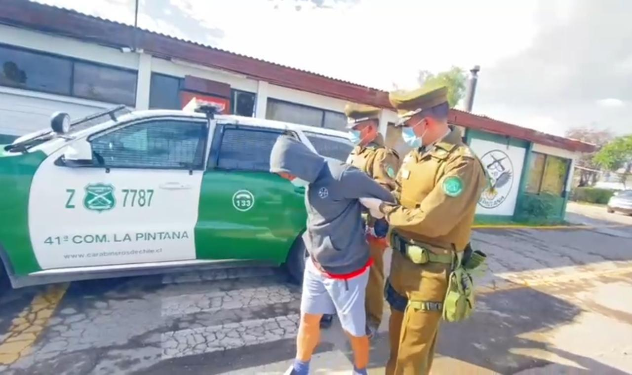 Agresor sexual detenido en La Pintana