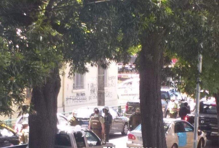 Manifestación en Temuco.