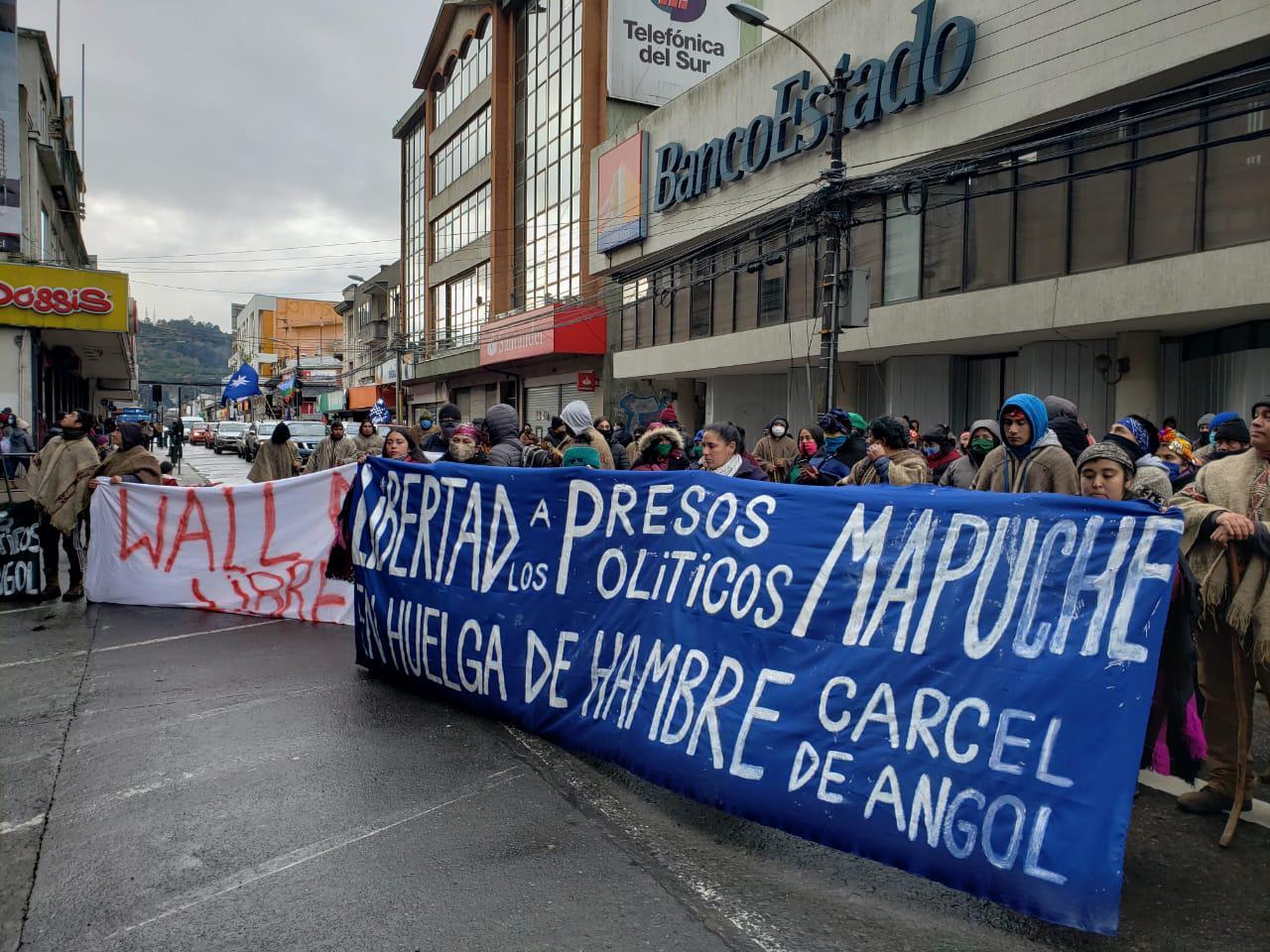 Manifestacon Temucuicui Intendencia