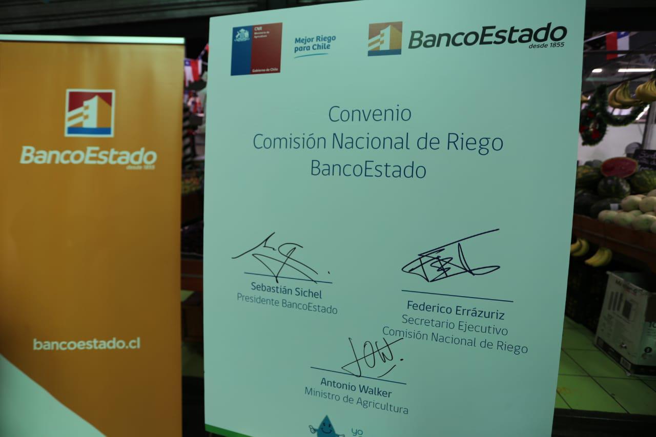 Convenio con BancoEstado.