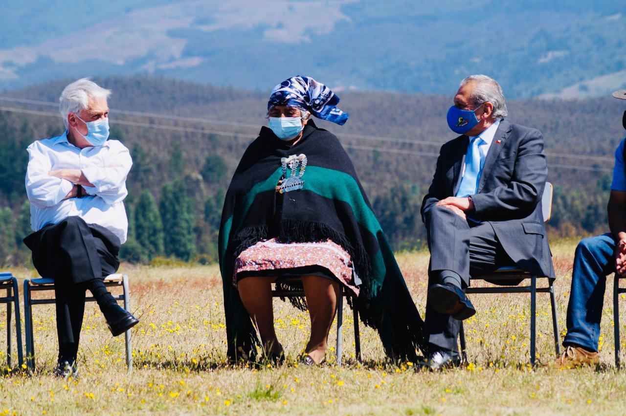 Conversatorio Presidente Piñera en Los Sauces
