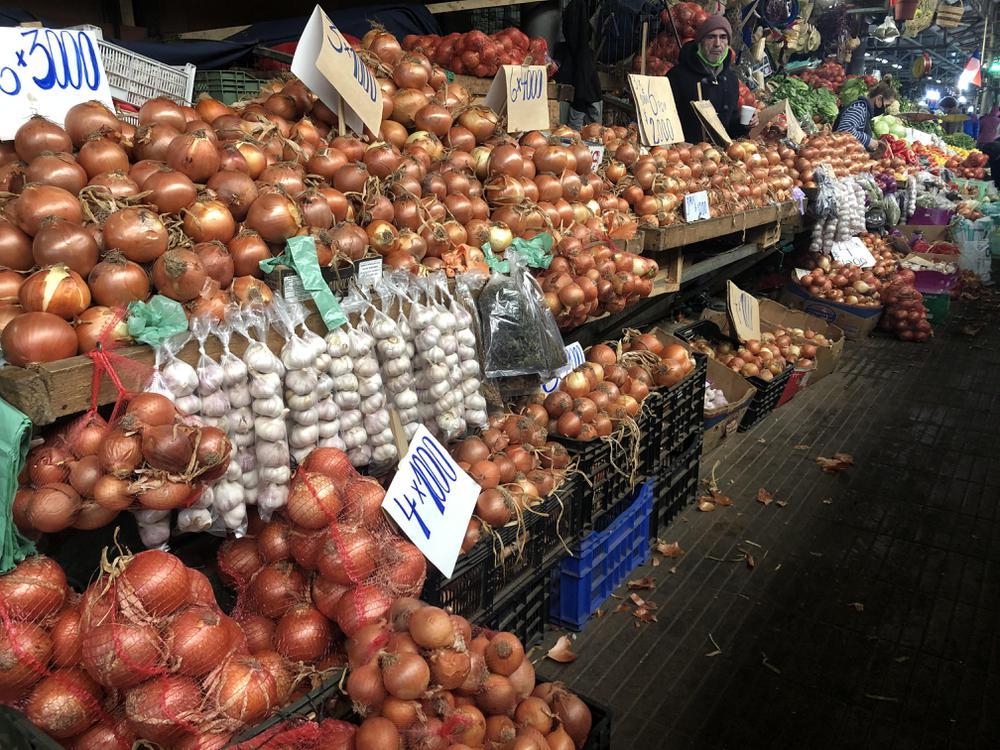 Aumento de precio de Cebolla.